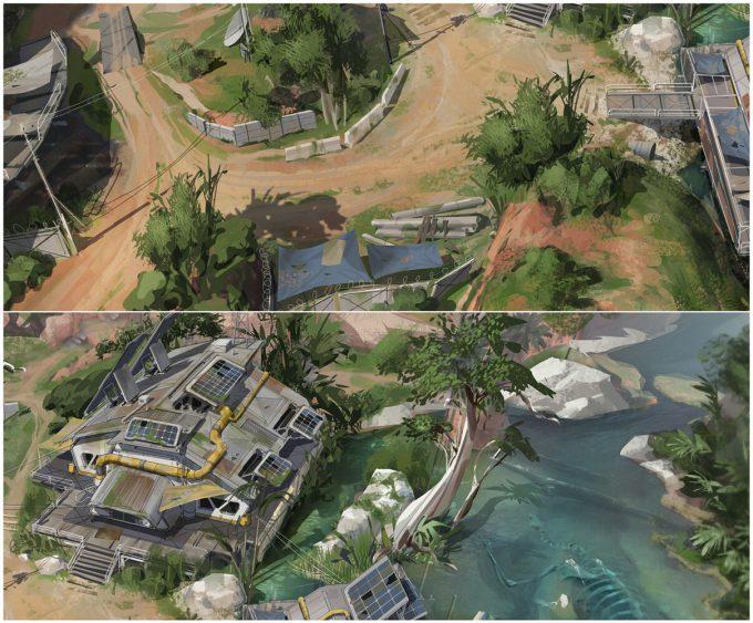 Apex Legends Concept Art Hethe Srodawa river01 overview2