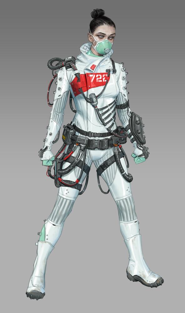 Apex Legends Concept Art Hethe Srodawa wraith legendary01