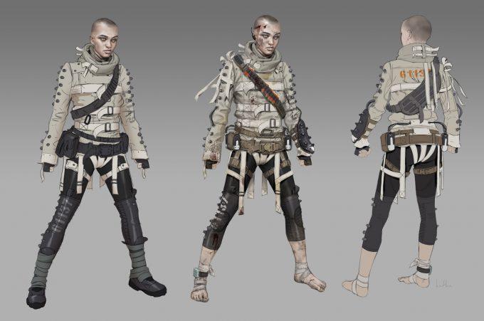 Apex Legends Concept Art Hethe Srodawa wraith legendary02