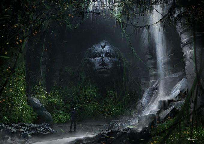 Eric Pfeiffer Concept Art Illustration old discoveries