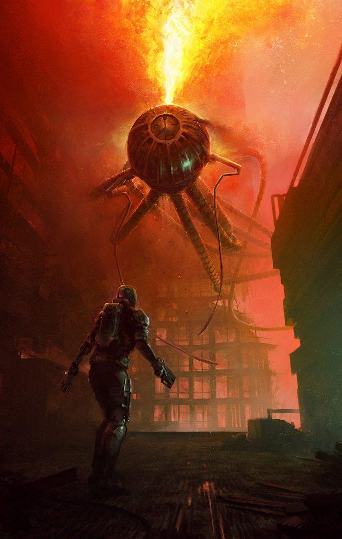 Eric Pfeiffer Concept Art Illustration squid