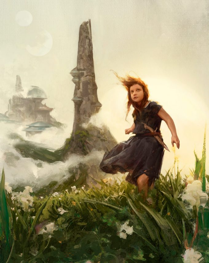 Star Wars Myths and Fables Black Spire Painting by Grant Griffin
