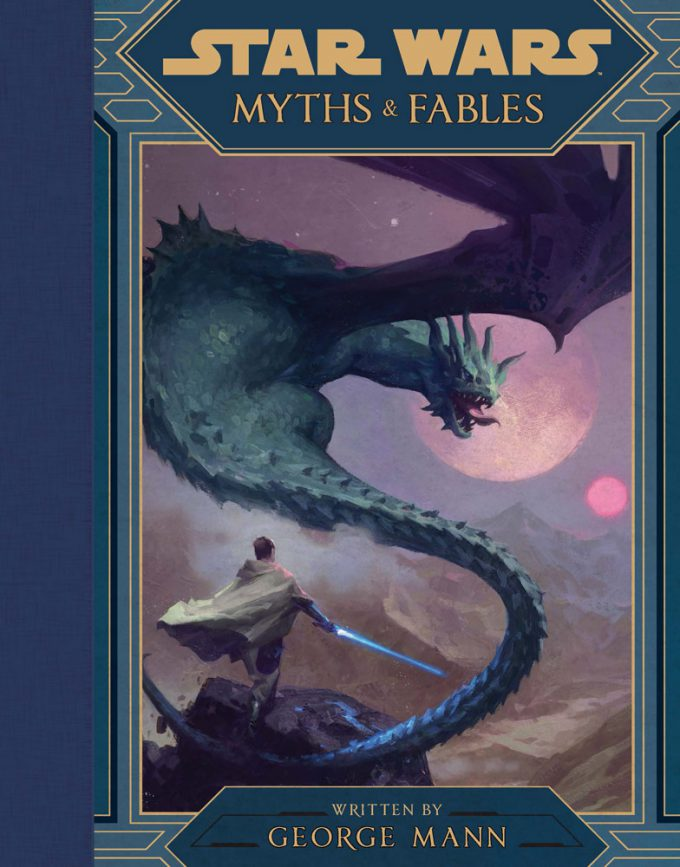 Star Wars Myths and Fables Cover Painting by Grant Griffin