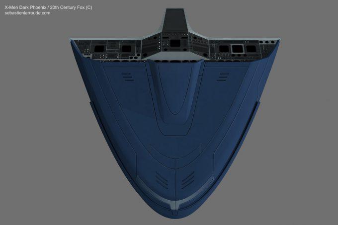 X Men Dark Phoenix Concept Art S Larroude X Jet DashBoard 03