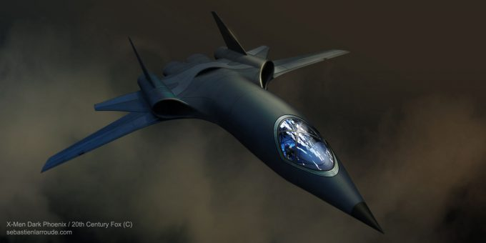 X Men Dark Phoenix Concept Art S Larroude X Jet FINAL V1 EXT 001