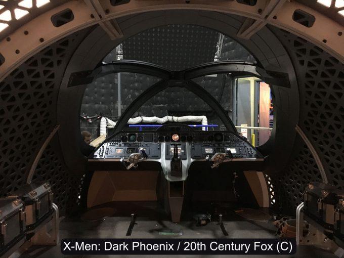 X Men Dark Phoenix Concept Art S Larroude X Jet Int Cockpit pic