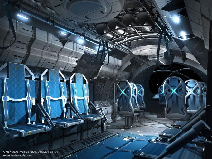 X Men Dark Phoenix Concept Art S Larroude X Jet Int Concept