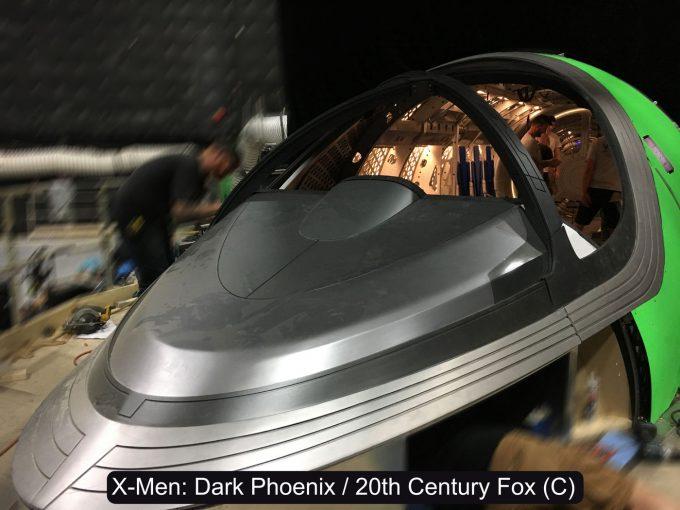 X Men Dark Phoenix Concept Art S Larroude X jet Cockpit Dashboard Pic