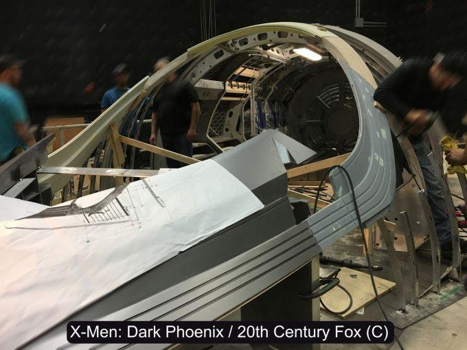 X Men Dark Phoenix Concept Art S Larroude X jet Cockpit Pic