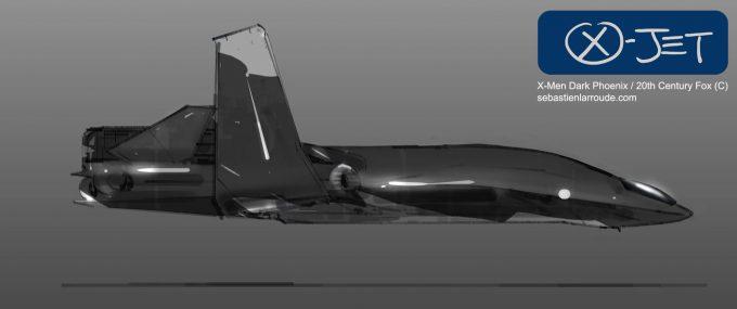 X Men Dark Phoenix Concept Art S Larroude XJet Sketch03b