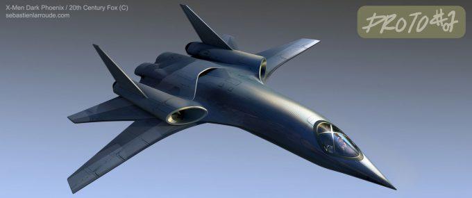 X Men Dark Phoenix Concept Art S Larroude XJet Sketch Proto TexturePattern02