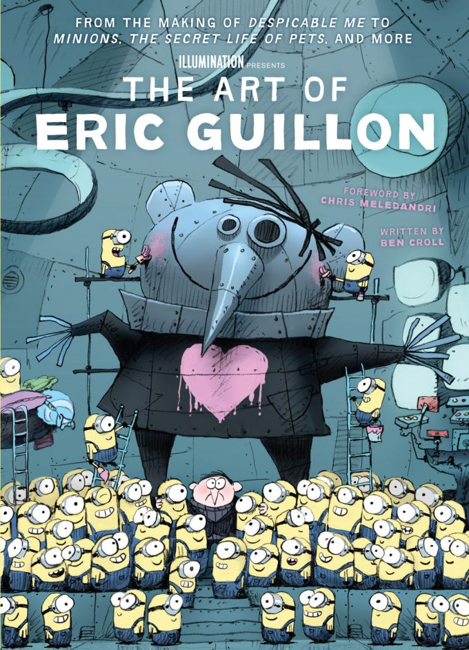 The Art of Eric Guillon Insight Editions Cover