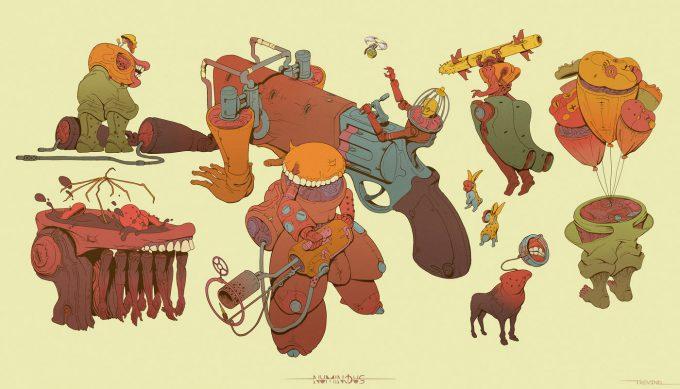 robbie trevino art illustration 10