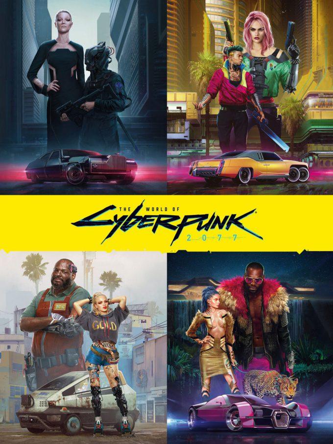 The World of Cyberpunk 2077 Concept Art 01
