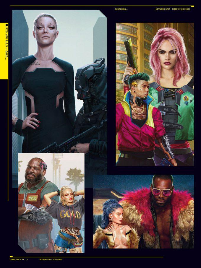 The World of Cyberpunk 2077 Concept Art 02