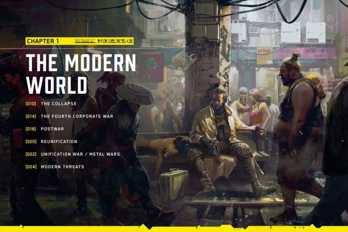 The World of Cyberpunk 2077 Concept Art 03