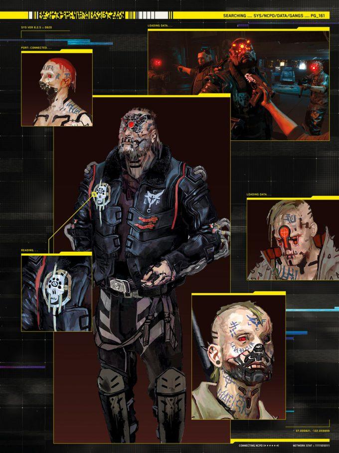 The World of Cyberpunk 2077 Concept Art 09