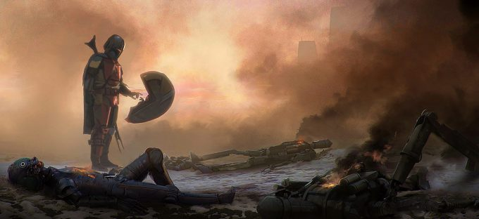 Art of Star Wars The Mandalorian Season One 08