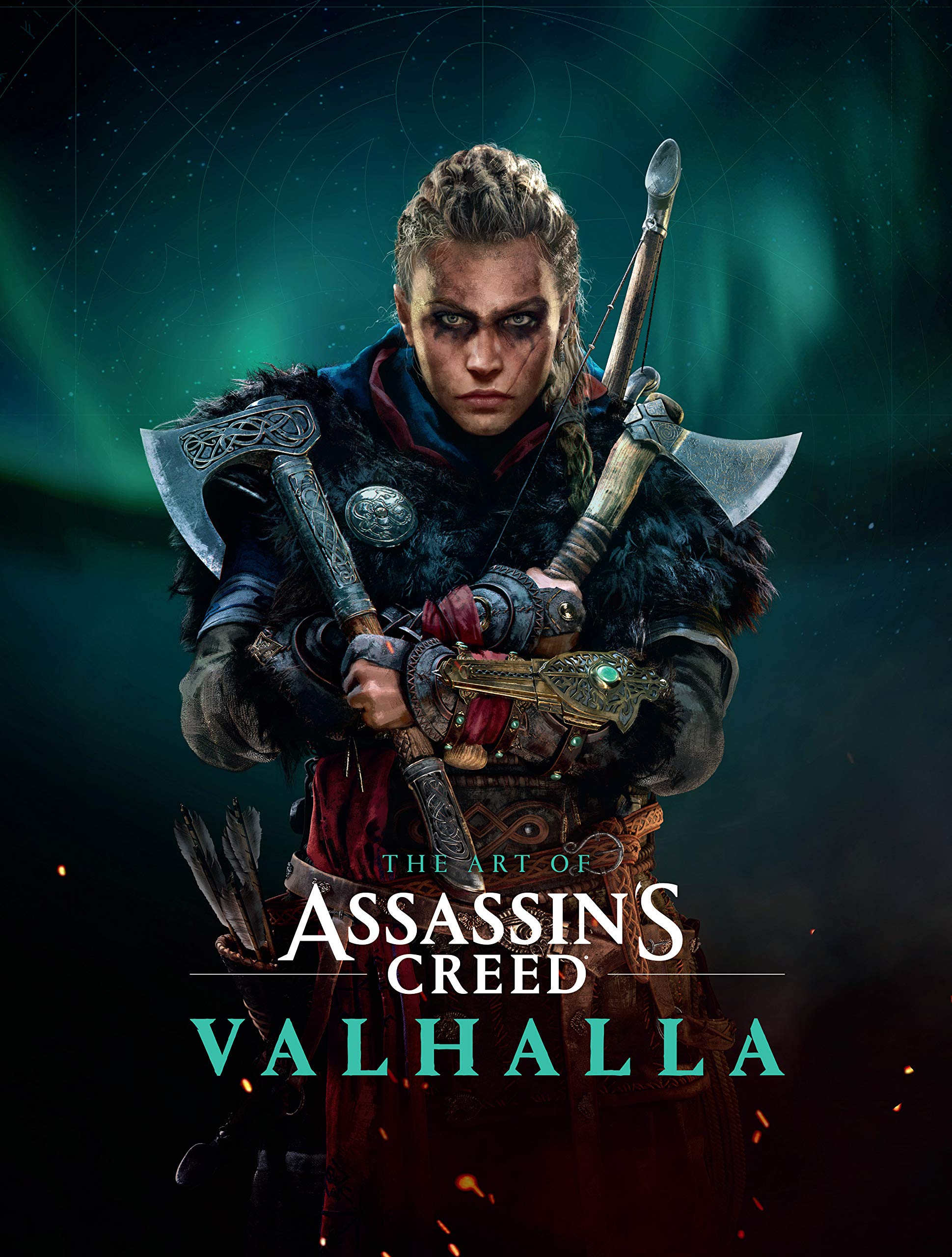 The Art of Assassin's Creed Valhalla Cover Art